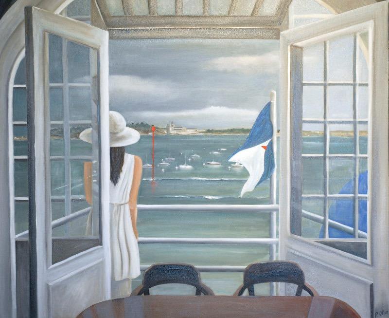 Terrasse du yacht club de DINARD